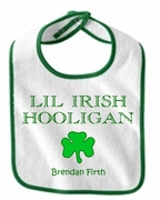 Lil' Irish Hooligan Baby Bib