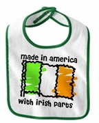 Made In America WIth Irish Parts Bib
