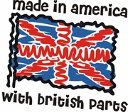Made in Britain Flag Shirts