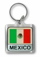Mexico Acrylic Key Chain