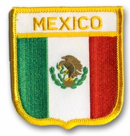 Mexico Crest Flag Patch
