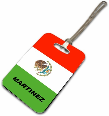 Mexico Luggage Tag