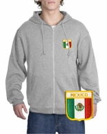Mexico Patch Full Zippered Hoody