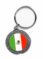 Mexico Pewter Key Chain