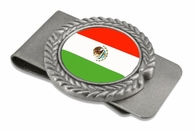 Mexico Pewter Money Clip
