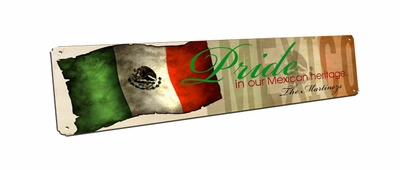 Mexico Vintage Metal Sign