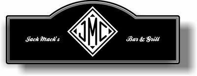 Monogrammed Gifts Display Sign