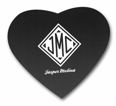 Monogrammed Gifts Heart Shaped Mousepad
