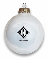 Monogrammed Gifts Holiday Ball Ornament