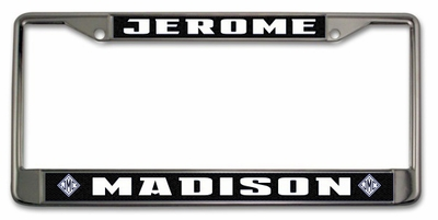 Monogrammed Gifts License Plate Frame