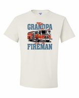 My Grandpa is a Fireman Shirts