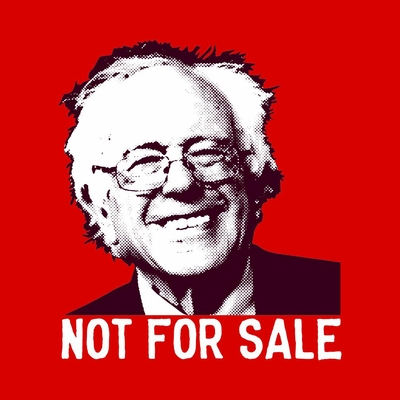 Bernie Sanders - Not For Sale Tee