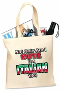 Not Only am I cute Tote