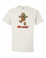 Oh Snap Gingerbread Tee