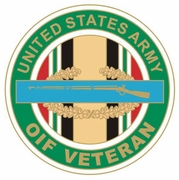 OIF Veteran CIB Pin