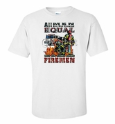 Only the Finest Become Firemen Shirts