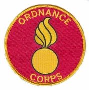 Ordnance Corps Patch