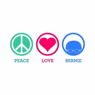 Peace, Love Bernie T-Shirt