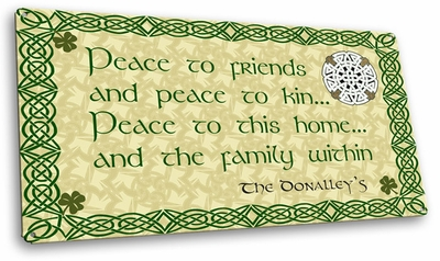 Peace To Friends Signs - Personalized