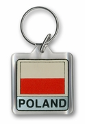 Poland Acrylic Key Chain