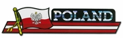 Poland Flag Bumper Sticker