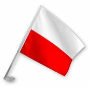 Polish Car Flag
