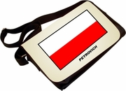 Polish flag purse