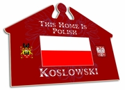 Polish House Sign