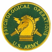 Psychological Operations Patch