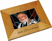 Rabbi Wood Picture Frame