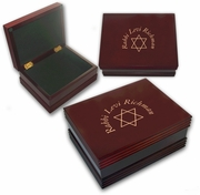 Rabbi Wooden Keepsake Box