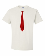 Red Polka Dot Tie T-shirt