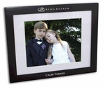 ring bearer Black Wood Picture Frame
