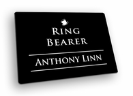 Ring Bearer Name Tags
