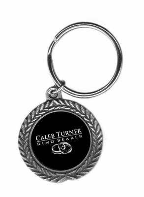 ring bearer Pewter Key Ring