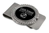 ring bearer Pewter Money Clip