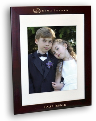 ring bearer Rosewood Picture Frame