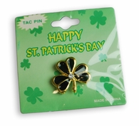 Shamrock Lapel Pin