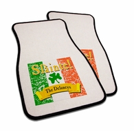 "Slainte Irish ""To Health""  Car Mats"