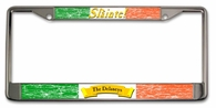 "Slainte Irish ""To Health""  License Plate Frame"
