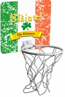 "Slainte Irish ""To Health""  Mini Basektball Hoop"