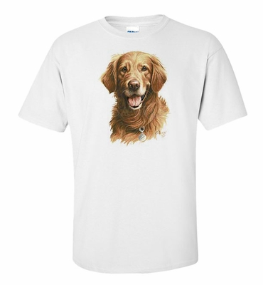 Smiling Golden Retriever Shirts