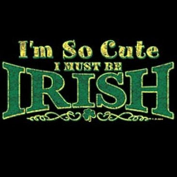 So Cute~Must Be Irish