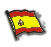 Spain Flag Lapel Pin