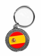 Spain Pewter Key Chain