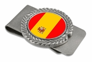 Spain Pewter Money Clip