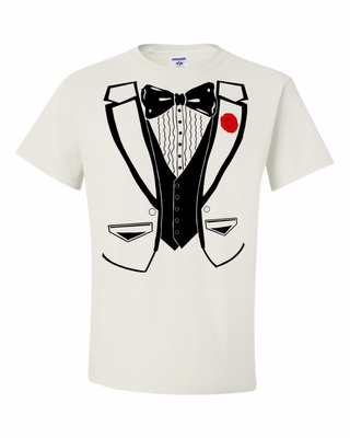 Super Fancy Tuxedo T-Shirt
