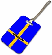 Sweden Luggage Tag