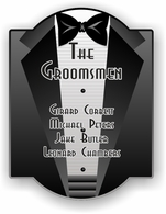 The Groomsmen Traditional Sign