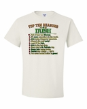 Top Ten Reasons to be Irish Shirts